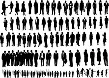 106 Business people. Illustration of 106 business people Royalty Free Illustration