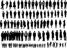 106 genti di affari royalty illustrazione gratis