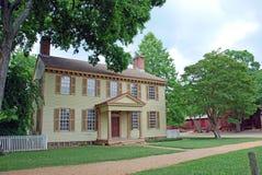 108 kolonistów dom Fotografia Stock