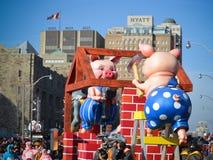 108o desfile de Papá Noel de Toronto Imagen de archivo libre de regalías