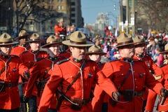 108o desfile de Papá Noel de Toronto Foto de archivo