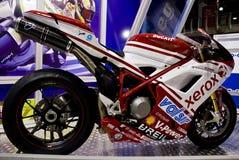 1098年ducati英里/小时superbike 图库摄影