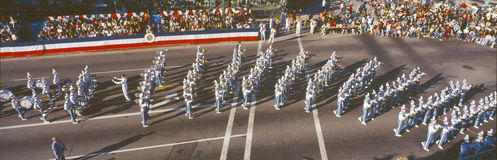 109th Tournament of Roses Parade, Royalty Free Stock Images