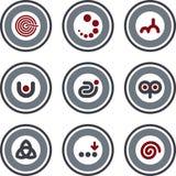 10a στοιχεία π σχεδίου διανυσματική απεικόνιση