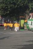 10k κόσμος πρεσβυτέρων τρεξίματος μαραθωνίου της Βαγκαλόρη Στοκ Φωτογραφία