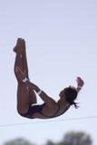 10m som dyker kvinnor för finaler rome09 Arkivfoton