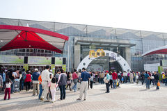 10mo TIOS 2011, demostración internacional de la orquídea de Taiwán Fotografía de archivo