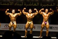 10o Bodybuilding clássico 2 de Fujairah Fotografia de Stock Royalty Free