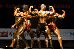 10o Bodybuilding clássico 4 de Fujairah Fotos de Stock Royalty Free