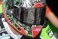10r kawasaki участвуя в гонке sykes объениняются в команду zx tom Стоковые Фото