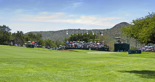 10th Hole - Panoramic View of the Green Royalty Free Stock Images