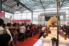 10TH TIOS 2011, DE INTERNATIONALE ORCHIDEE VAN TAIWAN TONEN Royalty-vrije Stock Foto