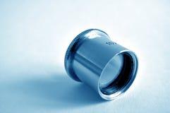 10x - piccola lente d'ingrandimento Immagini Stock Libere da Diritti