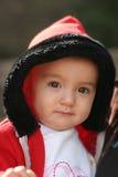 11个女婴月 免版税库存照片