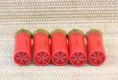 11个弹药筒猎枪 免版税库存图片