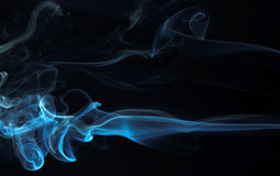 11个抽象系列烟 免版税库存图片