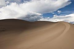 11个沙丘极大的国家公园蜜饯沙子 免版税库存图片