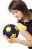 11个球女孩 免版税图库摄影