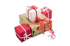 11个配件箱礼品 库存图片