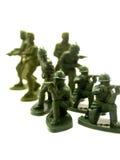 11位战士玩具 免版税库存照片
