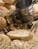 11做面包的粮谷 免版税图库摄影