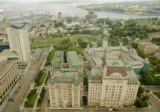 11城市魁北克 库存照片