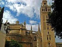11大教堂塞维利亚 免版税库存图片