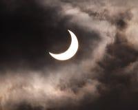 11太阳的蚀 库存图片