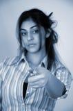 11女实业家 库存照片