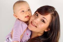11小母亲 图库摄影