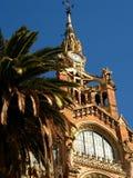 11巴塞罗那医院sant的波城 库存照片