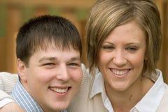 11布赖恩订婚tonya 免版税图库摄影