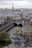 11月巴黎 免版税库存照片