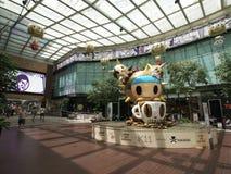 11洪k kong购物中心购物 免版税库存图片