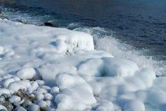 11海运冬天 库存图片