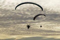 11滑翔伞 库存照片