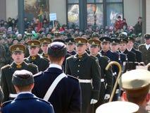 11独立立陶宛行军维尔纽斯 库存照片