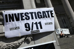11第11 9 2009年加拿大演示9月 免版税库存图片