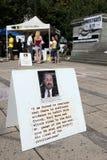 11第11 9 2009年加拿大演示9月 免版税图库摄影