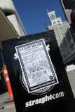 11第11 9 2009年加拿大演示9月 图库摄影