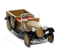 11辆汽车normandie老tatra玩具 免版税图库摄影