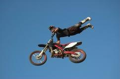 11道自由式moto x 库存照片