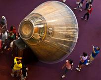 11阿波罗指令舱 免版税图库摄影