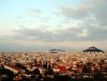 11雅典视图 免版税库存照片