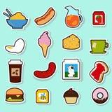 11食物 库存例证