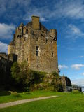 11 écossais des montagnes de château Image stock