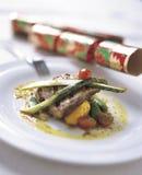 11 να δειπνήσει πρόστιμο Στοκ Φωτογραφία