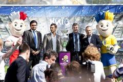 11 φλυτζάνι Κίεβο μπορεί UEFA Στοκ εικόνα με δικαίωμα ελεύθερης χρήσης