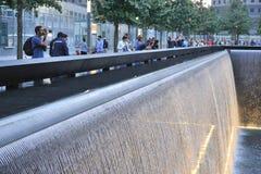 11 инфинитный мемориальный бассеин сентябрь Стоковая Фотография RF