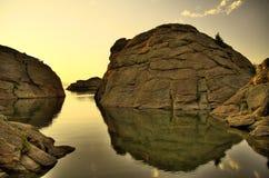 11 миль озера Стоковые Фотографии RF